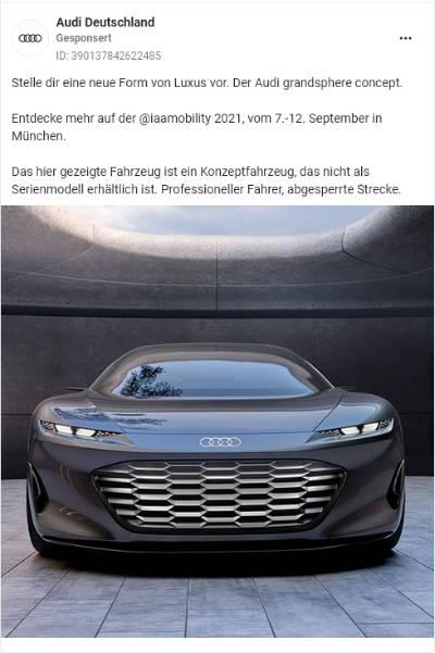 Audi Deutschand: Grandsphere Concept