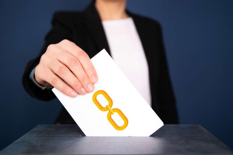 Ein Backlink ist wie eine Stimme bei einer Wahl